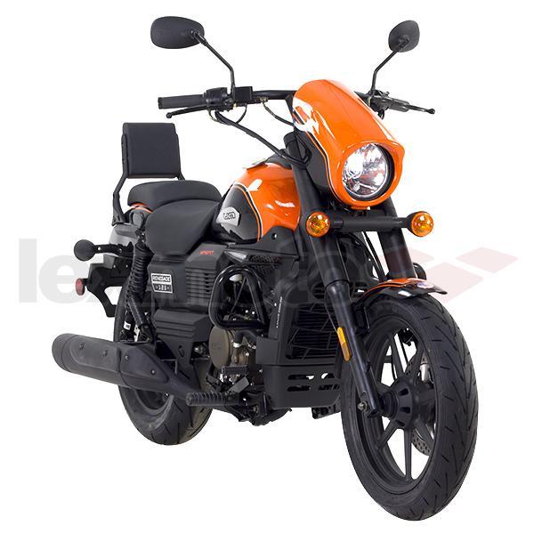 Main Seat for UM Renegade Commando 125 UM125-CO//Renegade Sport S 125 UM125-RS
