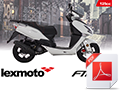 A6 Bike brochure for FMX EFI