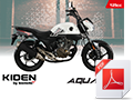 A6 Bike brochure for Kiden Aquarius 125