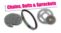 Chains, Belts and Sprockets