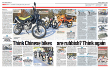 Are Chinese bikes getting better?