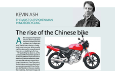 The rise of the Chinese Bike.