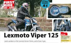 Lexmoto Viper 125 Review