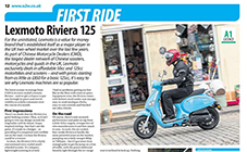Lexmoto Riviera 125cc First Ride