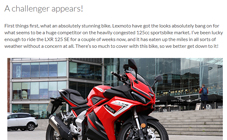 Bike Matters Lexmoto LXR SE Review