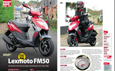 Lexmoto FM: Brief Ride