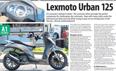 Lexmoto Urban 125cc Review