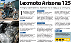 Lexmoto Arizona: First Ride